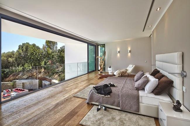 Casas minimalistas y modernas villa moderna de lujo en for Casas minimalistas modernas interiores