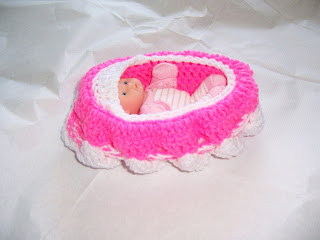 Baby Doll Bassinet Purse by BlueBarnHillCraftsIN