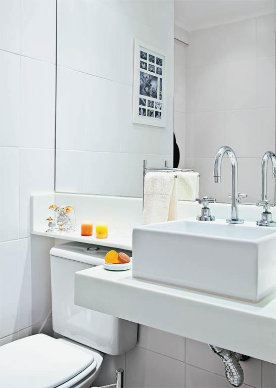 Ark arquitetura projetando banheiros pequenos ark blog d a dica - Altura de lavabo ...