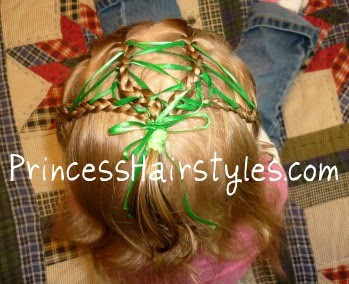 st. patricks day hairstyle