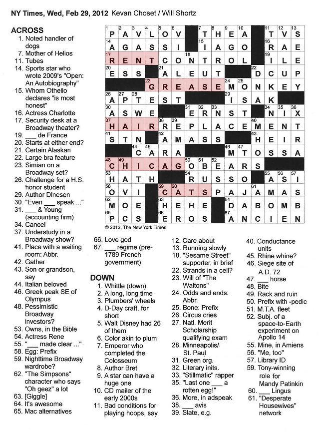 Letter Word For Aol Crossword