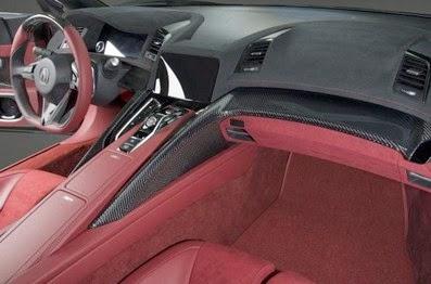 2016 Acura NSX Roadster interior
