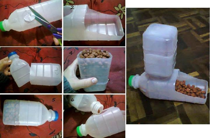 Diy With Used Plastic Bottles