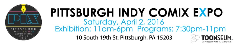 PIX: The Pittsburgh Indy Comix Expo