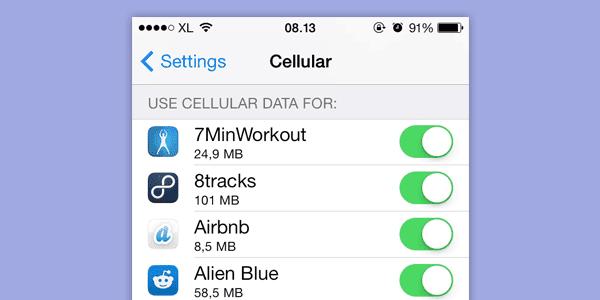 Cara menghemat penggunaan pulsa pada iphone