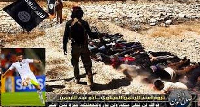 ISIS Tembak 13 Remaja Kerana Tonton Bola Piala Asia Antara Iraq dan Jordan