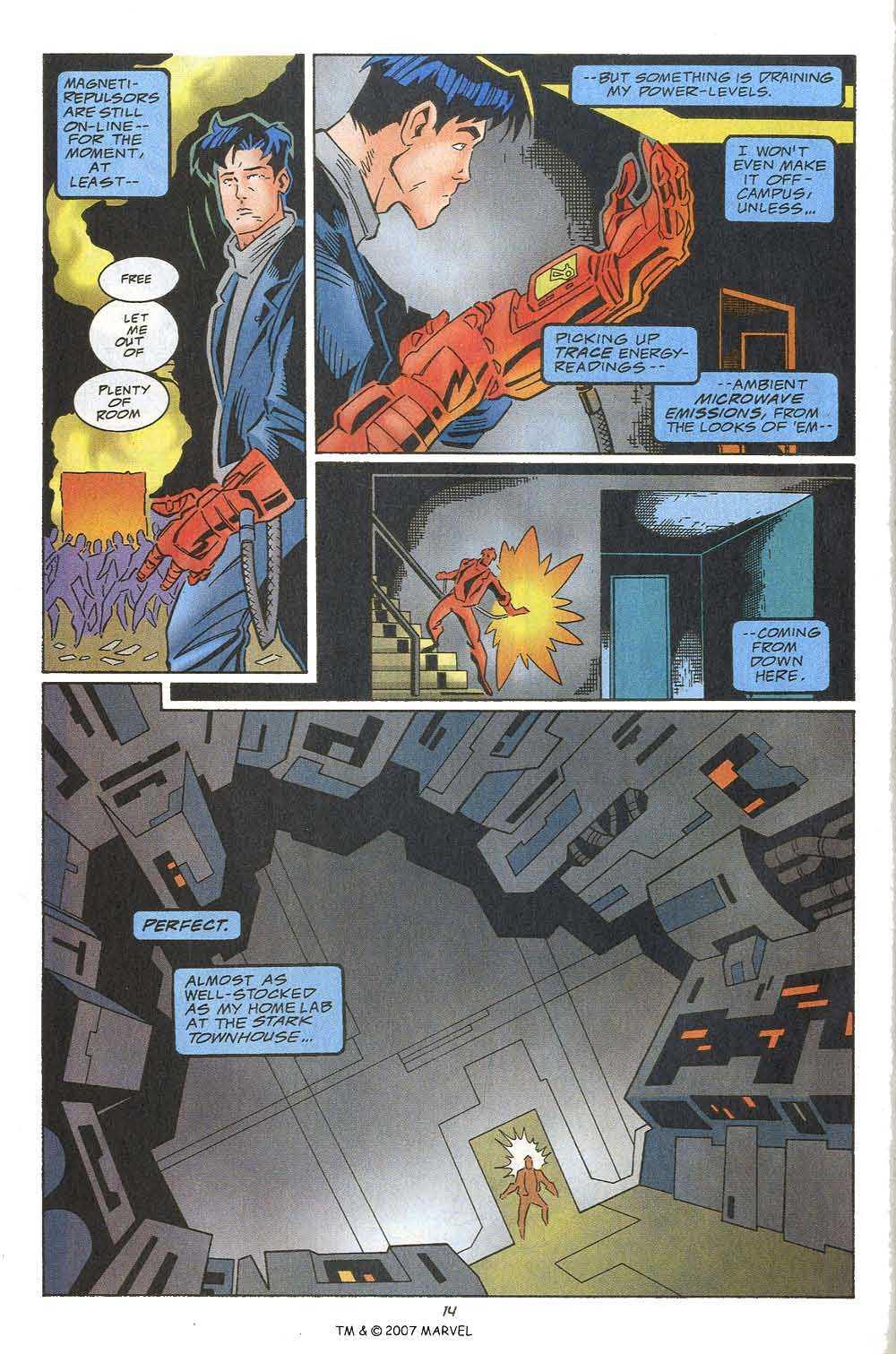 Captain America (1968) Issue #449c #405 - English 16