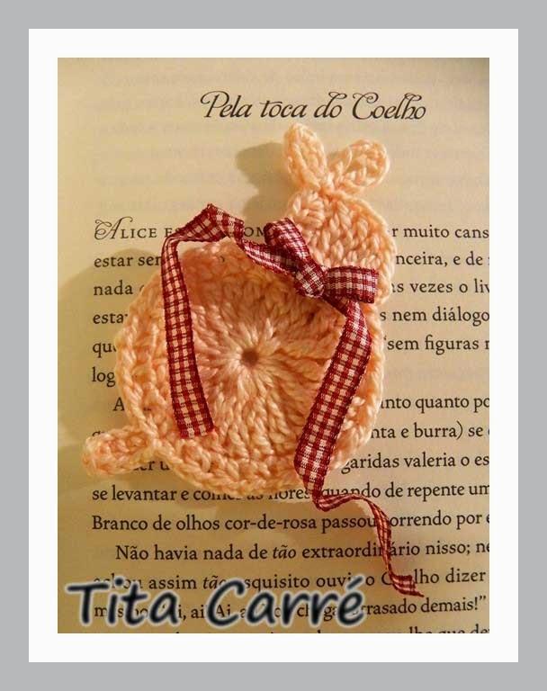 Pela toca do Coelho da Páscoa em Crochet