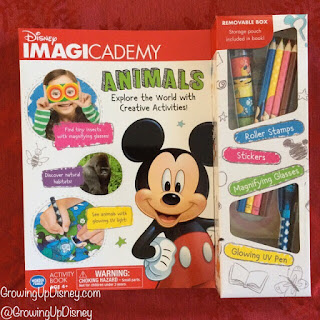 Disney Imagicademy activity book, Mickey Mouse book