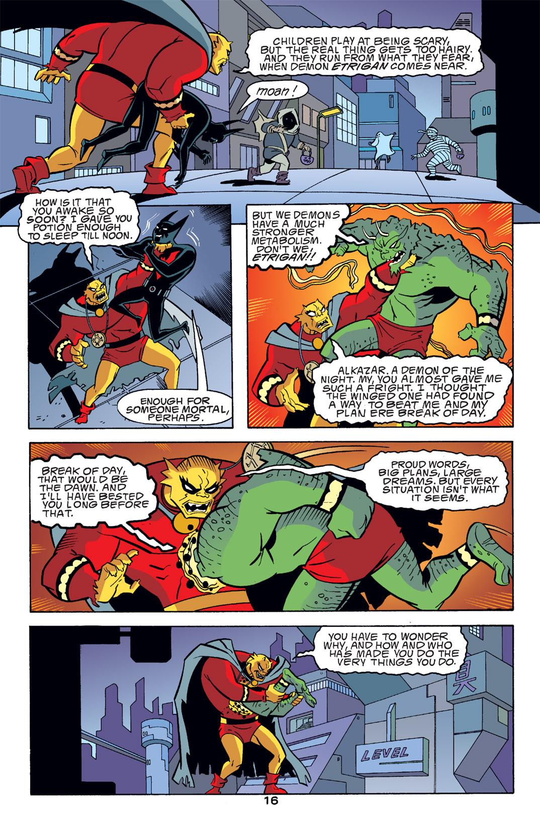 Batman Beyond [II] Issue #14 #14 - English 17