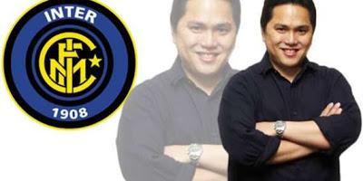 Erick Thohir Sang Pemilik Inter Milan