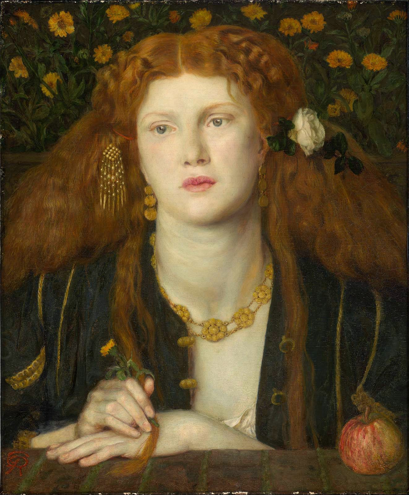 Dante Gabriel Rossetti - Bocca baciata,1859