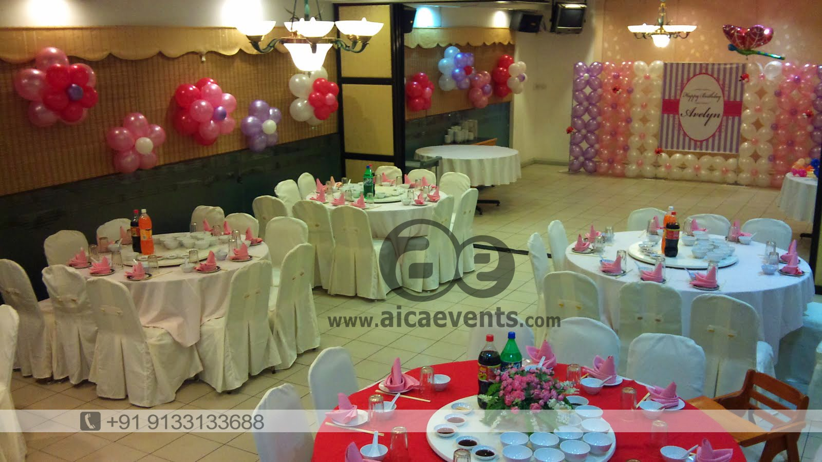 Aicaevents balloon decoration for birthday parties sitting decoration amipublicfo Image collections