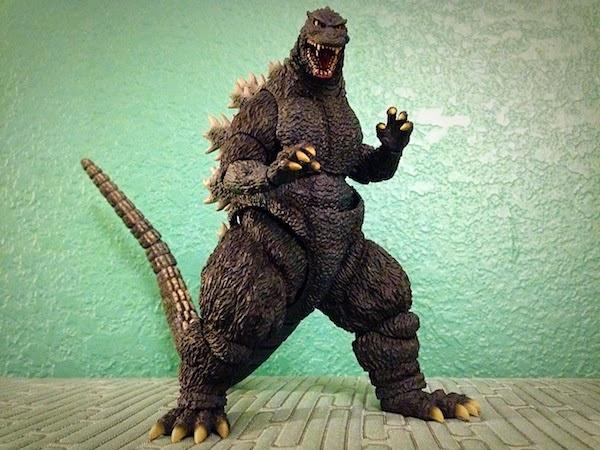 The Kaiju Planet: Figure Review - S.H. MonsterArts Godzilla Godzilla 1995 Birth