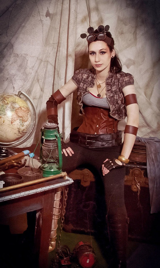 steampunk clothing women