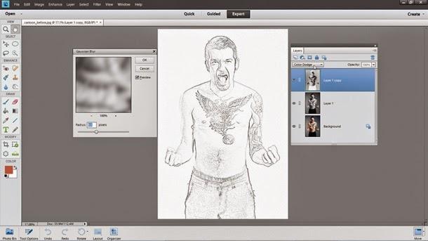 buat-sketch-di-photoshop