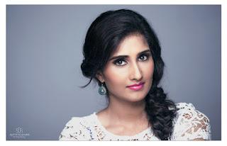Shamili new dazzling Picture shoot lovely indian model Portfolio face closeups