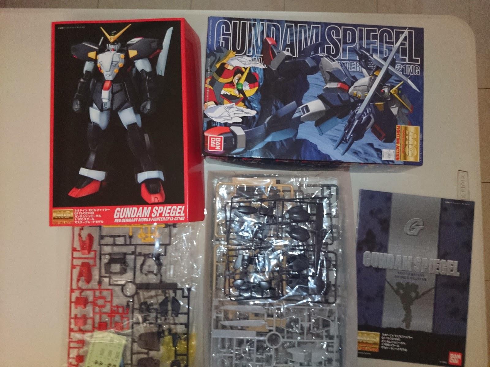 PlaMo Under Construction: Snap Build Gundam Spiegel