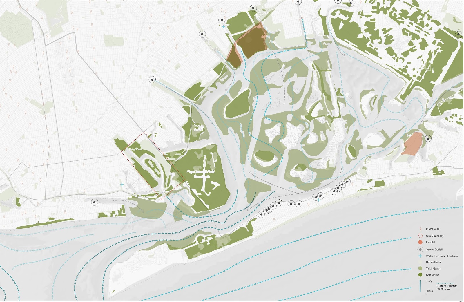 flux city urban estuary as a concentrated gradient