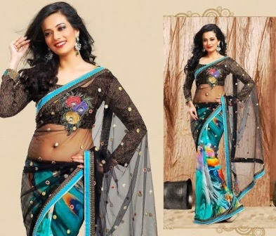 Bridal Wear Indian Sarees Design