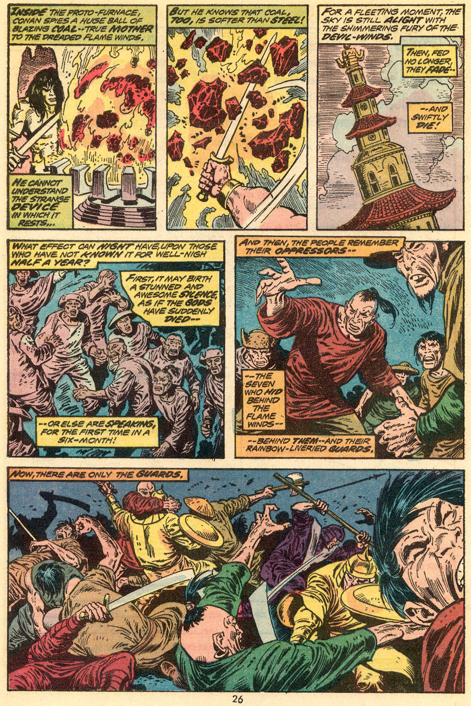 Conan the Barbarian (1970) Issue #34 #46 - English 16