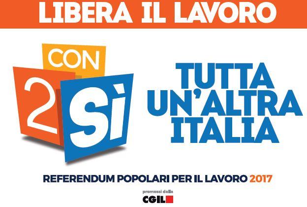 Due quesiti referendari, una grande opportunità per liberare il lavoro e cambiare l'Italia.