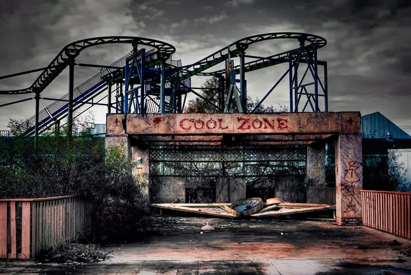 Parque Six Flags Jazzland. Nueva Orleans, EEUU.