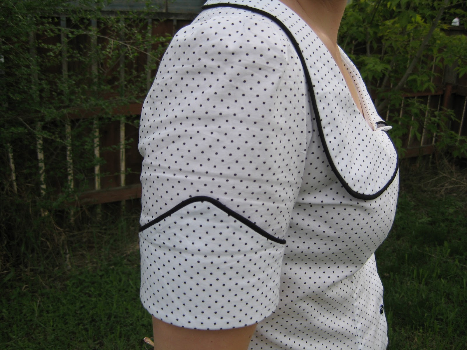 Black and White Challenge - Final Projects on Diane's Vintage Zest!  #sewing #fashion #challenge