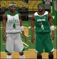 NBA 2K13 Boston Celtics Practice Jersey Patch
