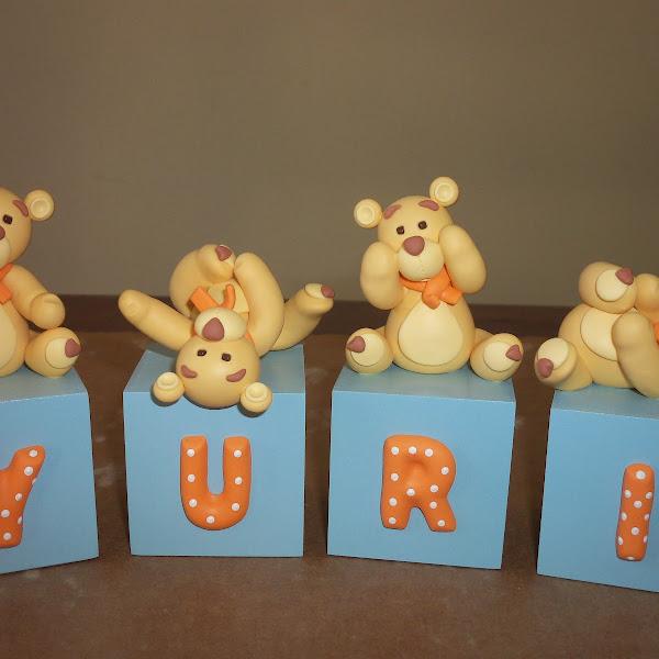 Cubos de Biscuit de Ursinhos