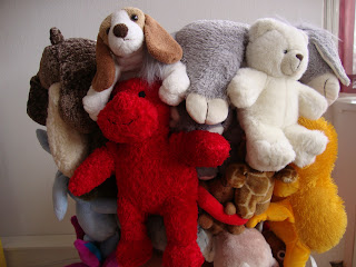 Chaise peluches