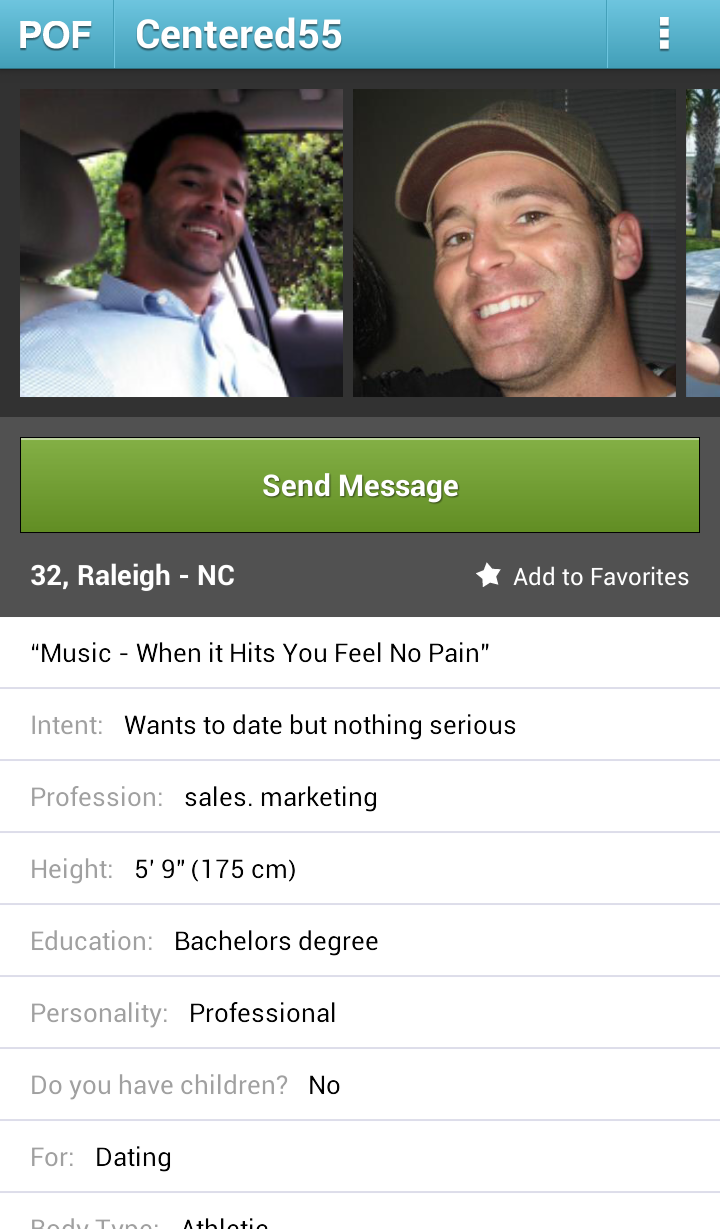 Killed by pof dating site