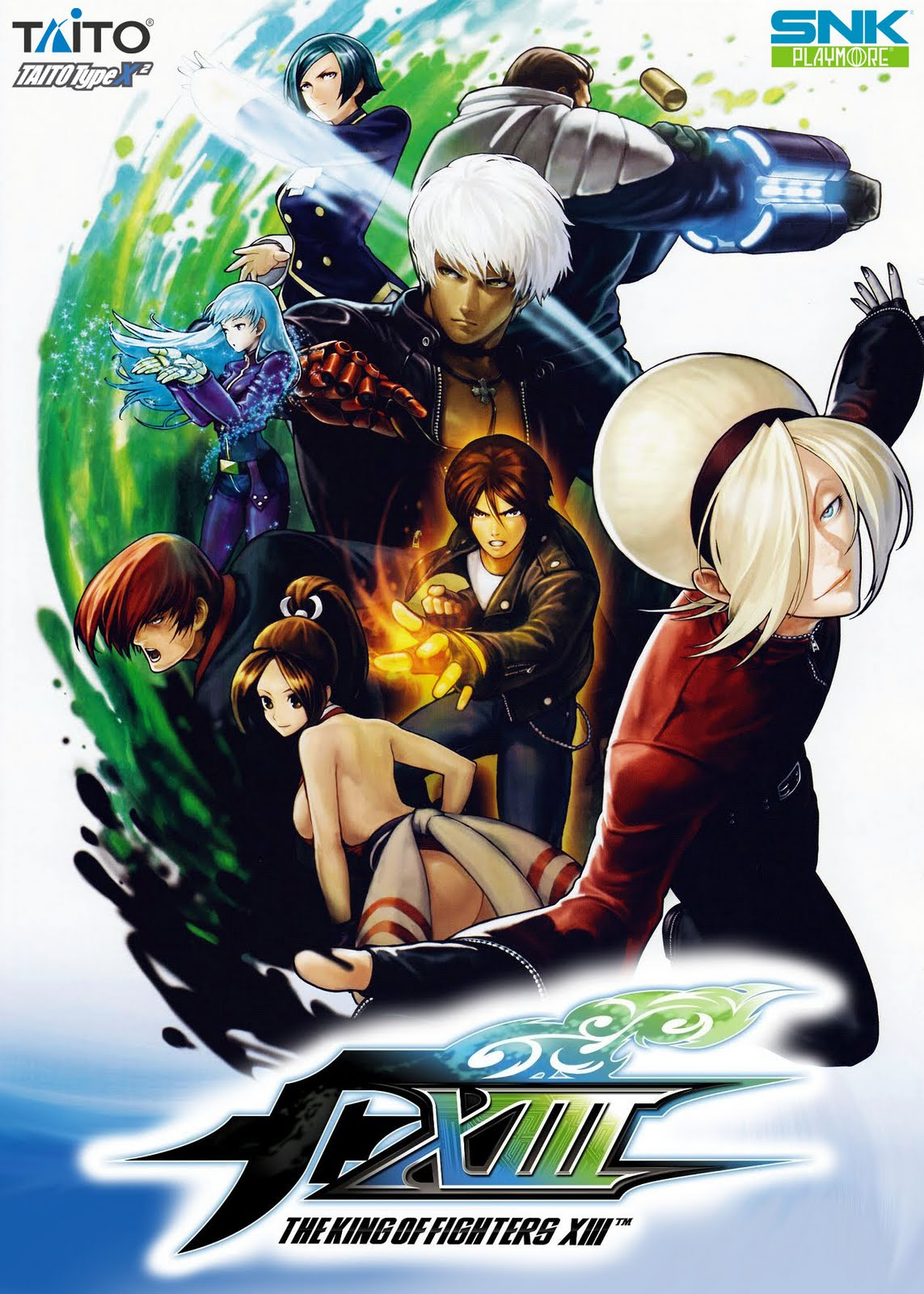 (PC) Taito Type x1 y 2 Collection (2004-2011) Kof_xiii_kof13%2Bcover