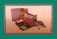 Contrportada del libro La fantástica historia de la Caperucita Roja