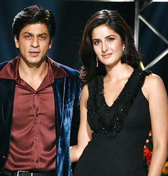 Katrina Kaif with Shahrukh Khan Pictures