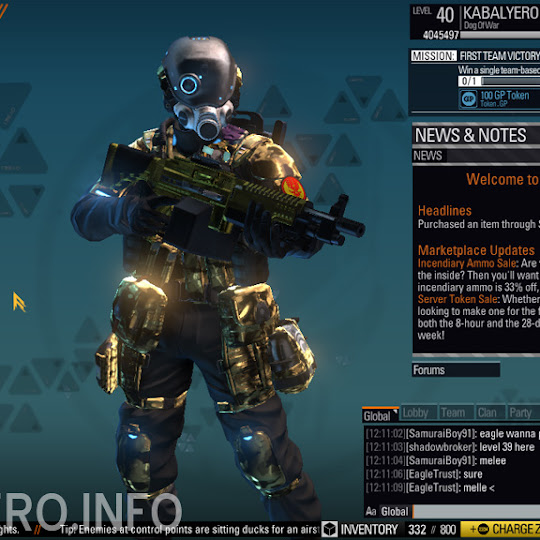 Veteran Reward Package Received In Blacklight: Retribution