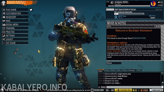 Gold Camo Blacklight: Retribution
