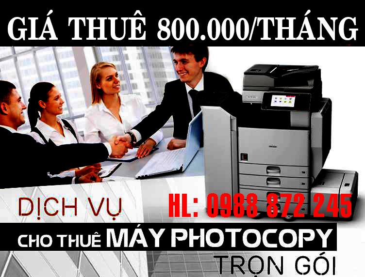 cho thue may photocopy tai hai phong