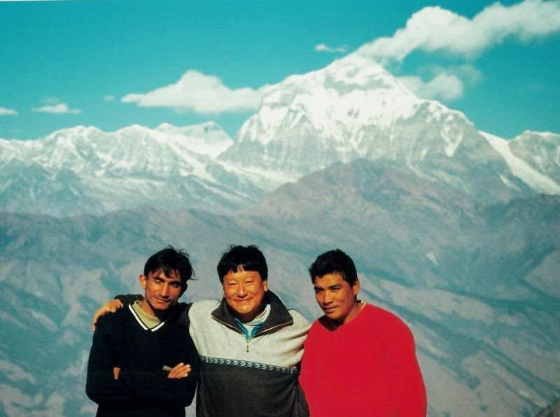 Vikram, Pema and Jetha