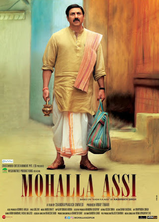 Poster Of Bollywood Movie Mohalla Assi 2018 300MB Pdvd Full Hindi Movie
