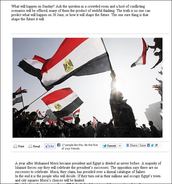 Евгения Кравчик: Goodbye, Мурси! Режим исламистов в Египте пал – и это только начало