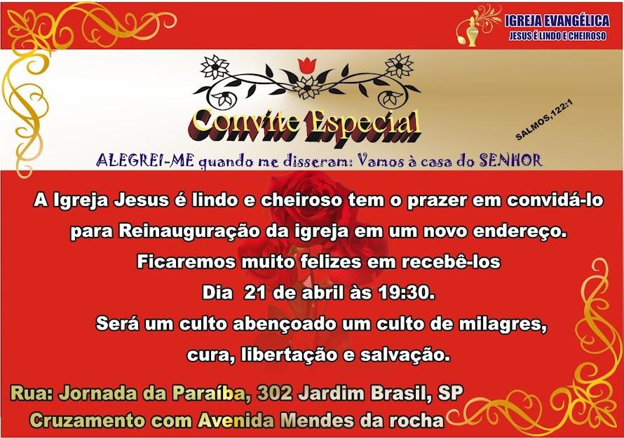 Jesus é Lindo e Cheiroso