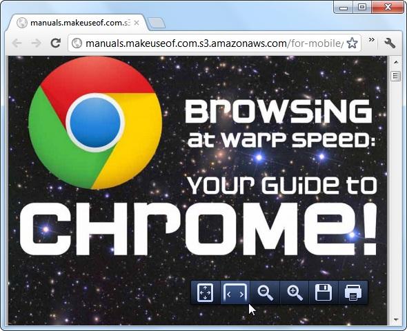 how to get adobe pdf toolbar in chrome broqser