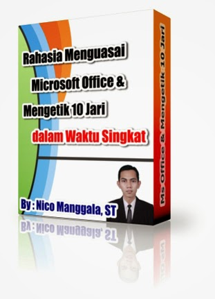 tutorial, cara, belajar, download, microsoft, office, word, excel, powerpoint, mengetik, 10 jari, rumus