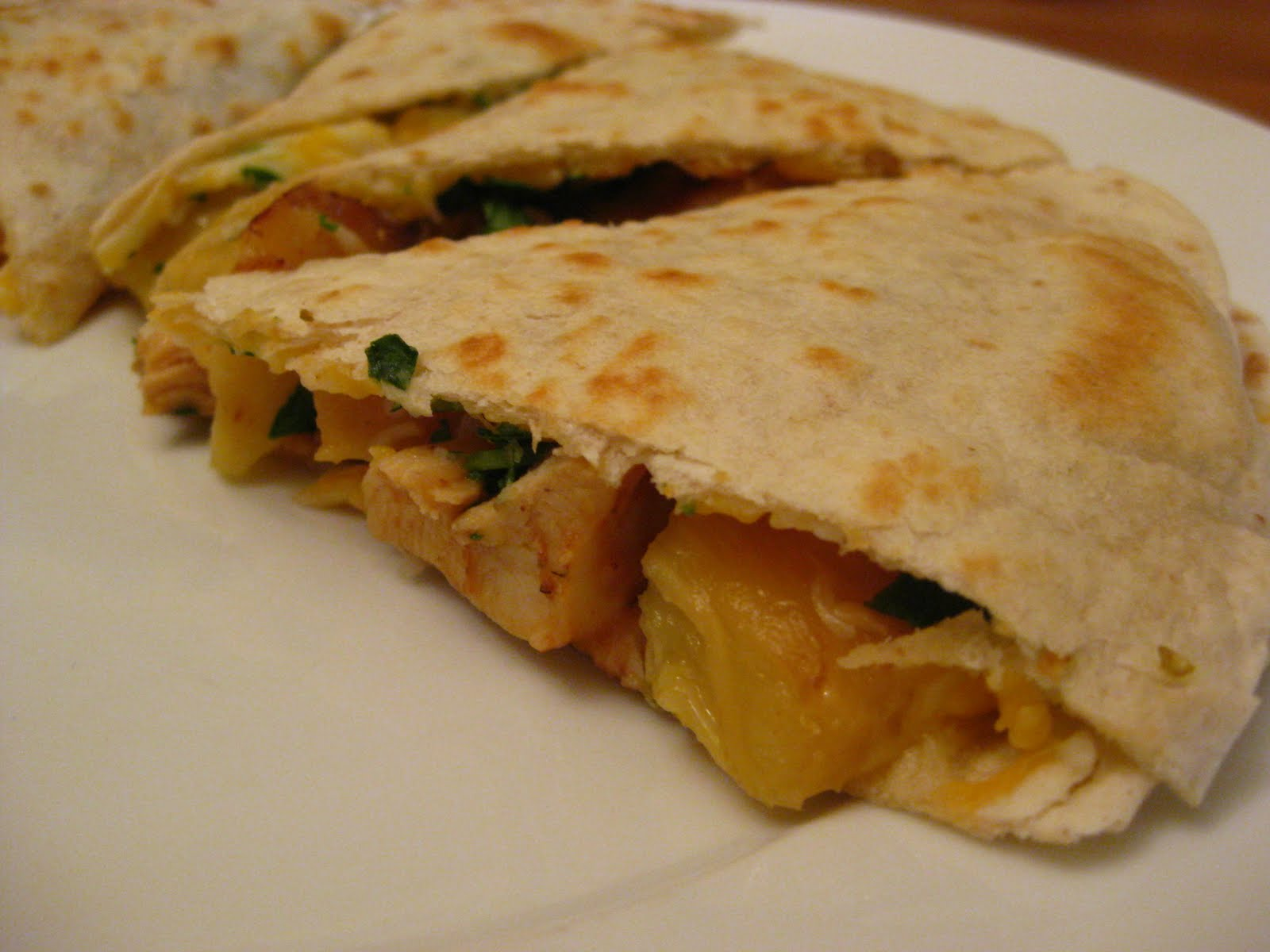 ve been thinking about these quesadillas all week and can't wait to ...