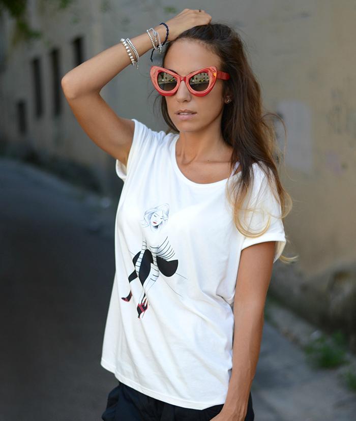 promod maglietta donna parigina