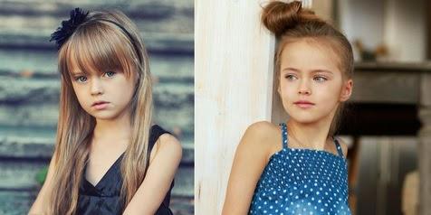 Baru 9 Tahun, Gadis Ini Sudah Jadi Supermodel