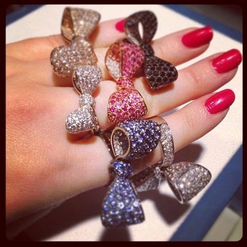 cute bow ring designs and ideas for girls dashingamrit