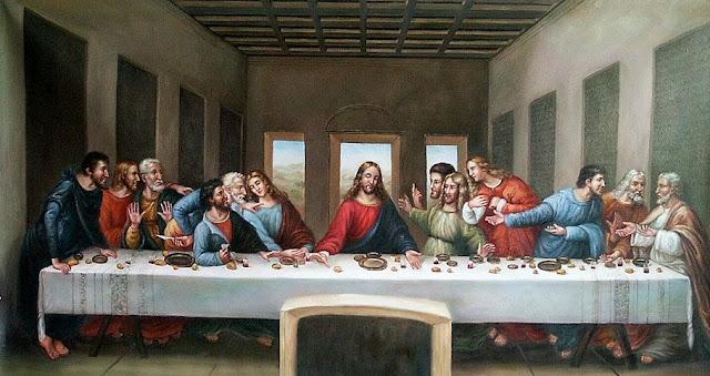 Easy Art Symbols The Last Supper