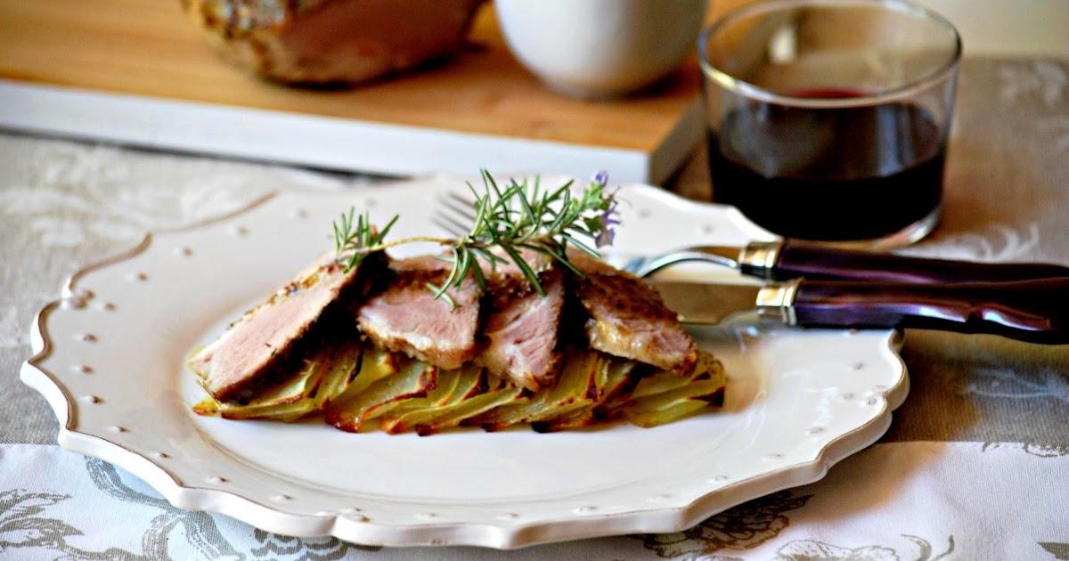 Magro de cerdo a baja temperatura con patatas domin y - Cocinar a baja temperatura ...